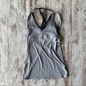 Champion tank with attached sports bra XS